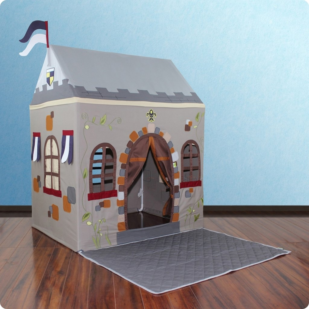 Learning: Play Early Childhood Active Play Playhouses Climbers & Rockers - Dx-60014 - Toadi Castle Playhouse& Floor Quilt DX-60014