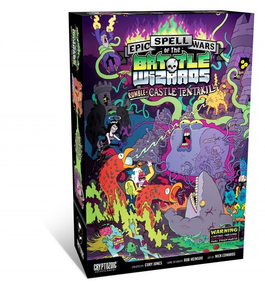 Epic Spell Wars Of The Battle Wizards: Rumble At Castle Tentakill - Sw-418 - Activity Toys Sw-418 SW-418