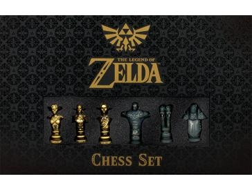 The Legend Of Zelda Polystone Chess Pieces - 44-036 - Learning: Play Chess Wood Plastic Board 44-036