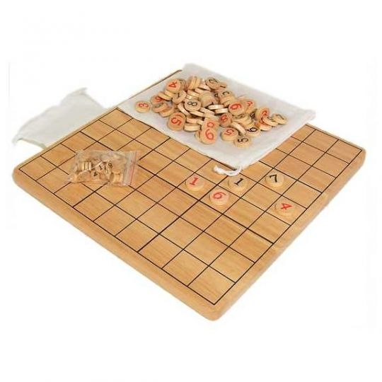 Wood Sudoku - S1-001 - Activity Toys Other Games Everything Else S1-001