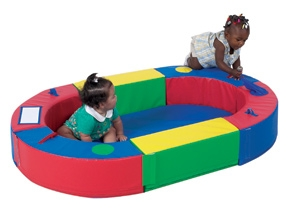 Elliptical Playring - Cf322-161 - Soft Play Infant Toddler Discovery Pathways CF322-161