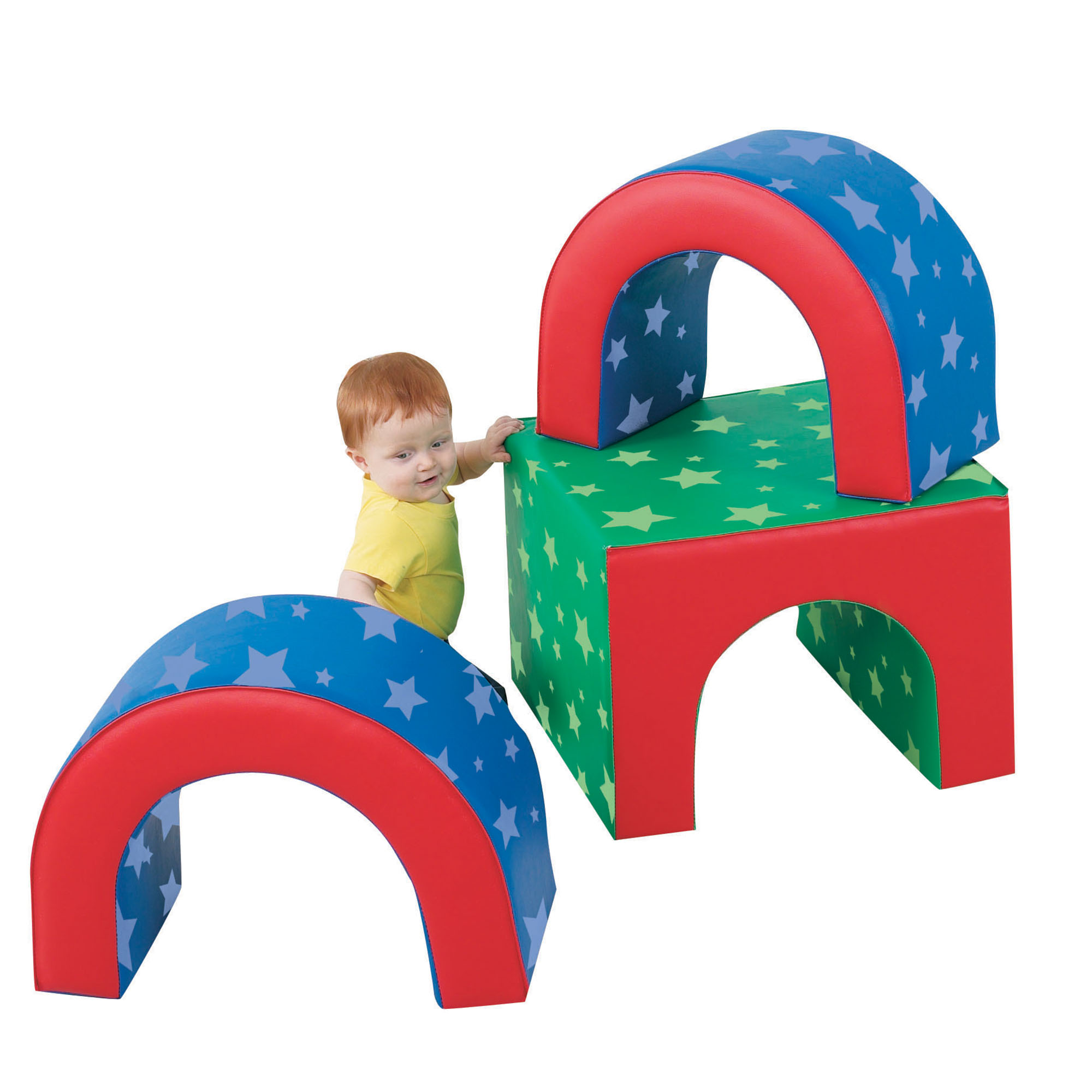 Tunnel Trilogy - Cf710-106pt - Activity Toys Gross Motor CF710-106PT