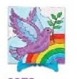 Learning: Play Art Canvas Canvas Panels - 9238 - Canvas Painting Set - Angel; Dove & Cross 9238