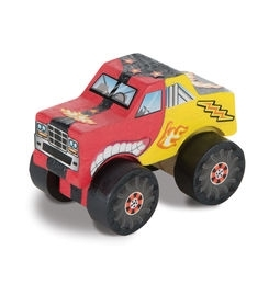 Learning: Classroom Arts & Crafts Crafts Paper Crafts - 9524 - Decorate-your-own Monster Truck 9524