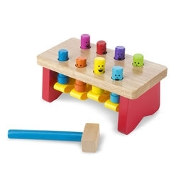 Learning: Classroom Math Sorting Activities & Sorting Trays - 4490 - Deluxe Pounding Bench Toddler Toy 4490