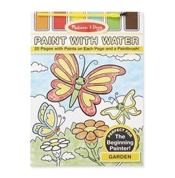 Learning: Classroom Arts & Crafts Paints Watercolor Paints - 4167 - Garden Paint With Water Kids' Art Pad 4167