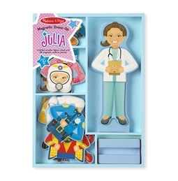 Learning: Play Preschool Pretend Play Dress Up & Accessories - 5164 - Julia Magnetic Dress-up 5164