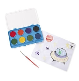 Learning: Classroom Arts & Crafts Paints Watercolor Paints - 4121 - Jumbo Watercolor Paint Set (8 Colors) 4121