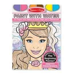 Learning: Classroom Arts & Crafts Paints Watercolor Paints - 9434 - Paint With Water - Pretty Princesses 9434