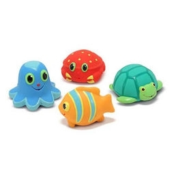 Learning: Play Active Play Active Games - 6435 - Seaside Sidekicks Squirters Water Toys 6435