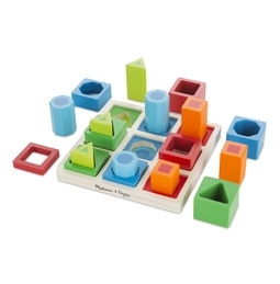 Learning: Classroom Math Sorting Activities & Sorting Trays - 582 - Shape Sequence Sorting Set 582