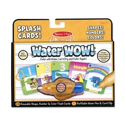 Learning: Play Classroom Rugs Shapes & Activities Rugs - 5237 - Water Wow! Number; Color; Shape Cards - On The Go Travel Activity 5237