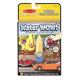 Learning: Play Art Drawing Supplies Painting Brushes - 5375 - Water Wow! Vehicles - On The Go Travel Activity 5375