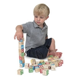 Sports & Fitness Physical Education & Sport Team Building Activities & Equipment Team Building Activities & Games - 1900 - Wooden Abc/123 Blocks 1900