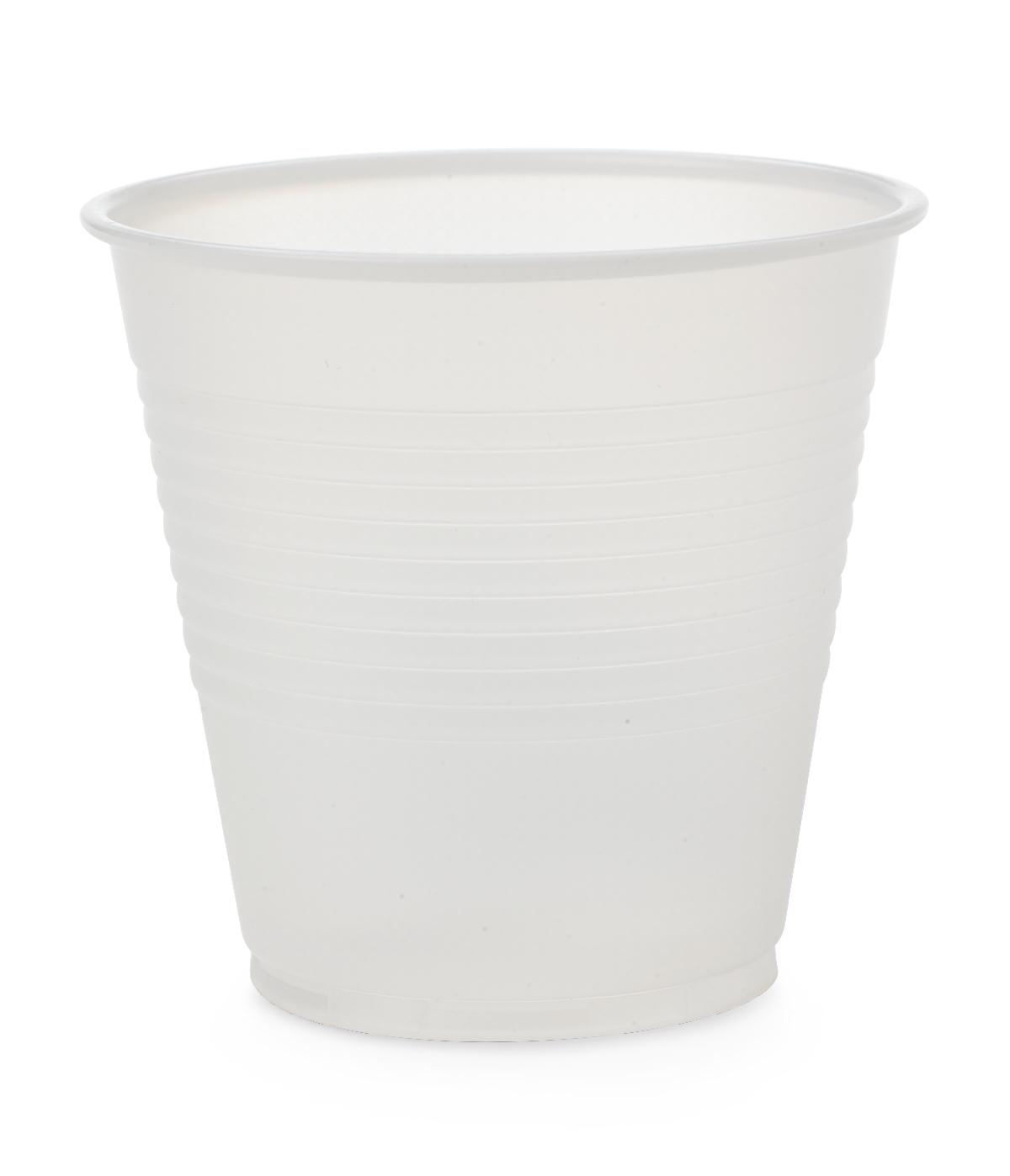 Disposable Translucent Polystyrene Drinking Plastic Cup NON03005