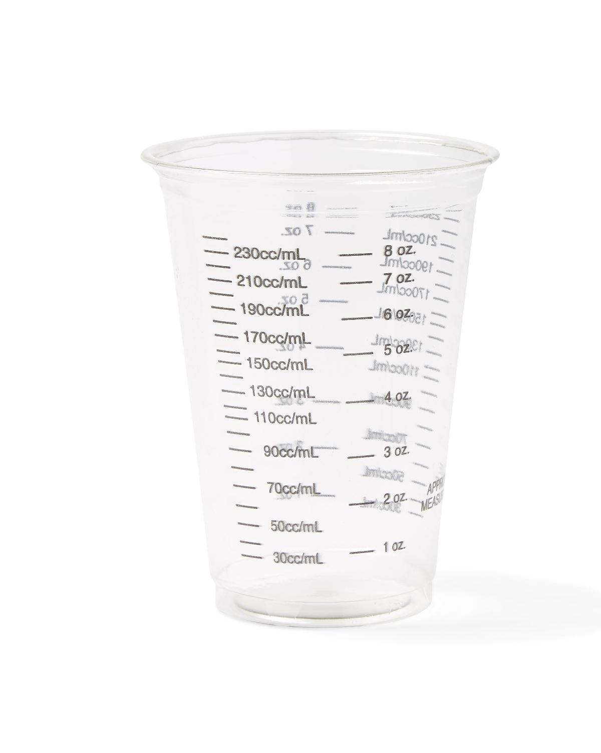 Nursing Supplies & Patient Care Food Service Drinking Cups & Glasses Cups & Glasses - Non03010bar - Cup Plastic Graduated 10 Ounce NON03010BAR