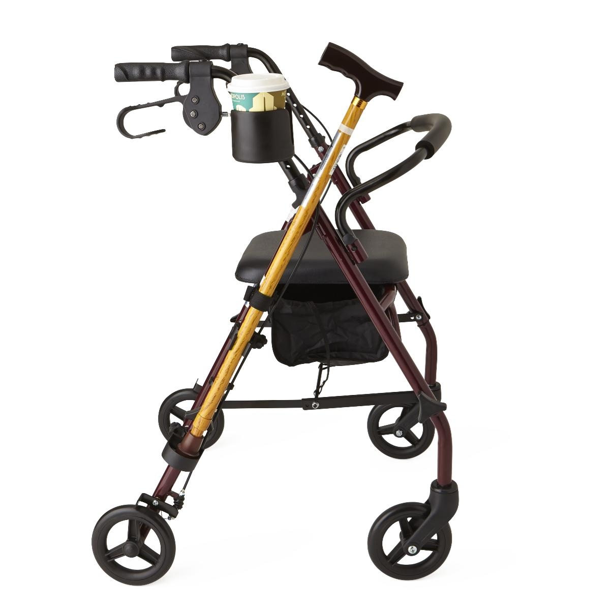 Facilities Special Needs Positioning & Mobility Wheelchairs & Walkers - Mdscupcanehw - Holder Cup And Cane Combo Pack MDSCUPCANEHW