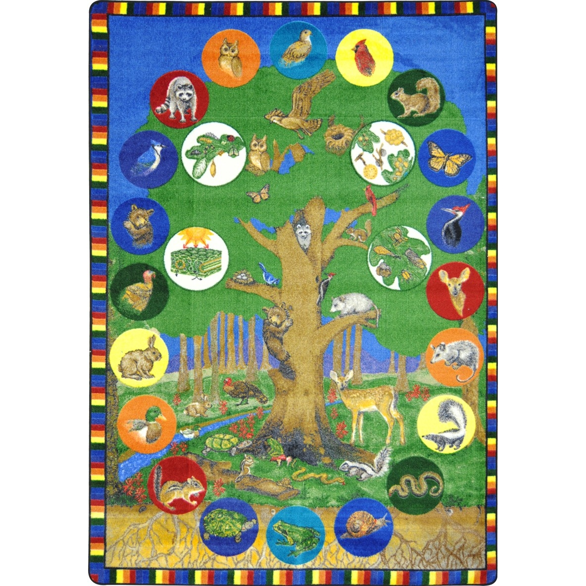 Tree Of Life Multi - 1448d - Geography & Environment Kid Essentials 1448D