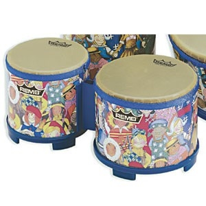 Percussion Hand Drums Bongos - Rh-5600-00 - Remo Rhythm Club Bongo Set RH-5600-00