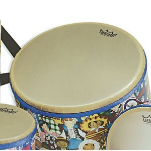 Percussion Hand Drums Bongos - Rh-5010-00 - Remo Rhythm Club Floor Tom Drum RH-5010-00
