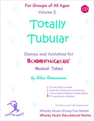 Totally Tubular Volume 2 Cd - Eft2 - Musical Instruments Boomwhackers EFT2