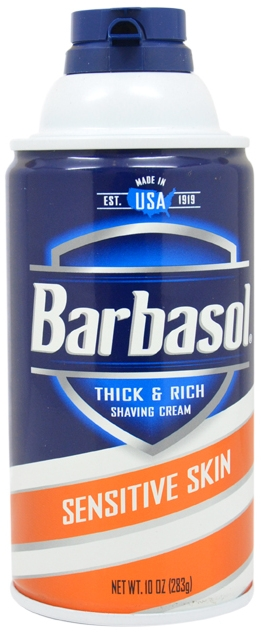 Learning: Play Care & Routine Hair Removal Shaving Cream - 1896501 - Barbasol-sensitive Skin Thick & Rich Shaving Cream (10 Oz.) 1896501