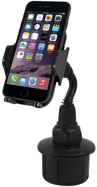 Facilities Av Technology Audio Electronics Telephones & Cordless Phones - 2126884 - Macally Cellular Phone Adjustable Cup Holder Mount 2126884