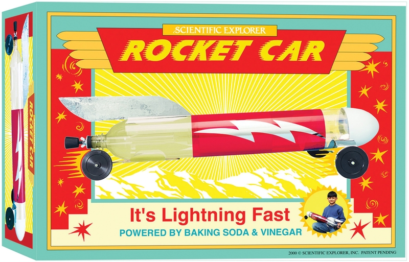 Learning: Classroom Character Development & Education Educational Games & Learning Games - 653797 - Scientific Explorers Rocket Car Kit-. 653797