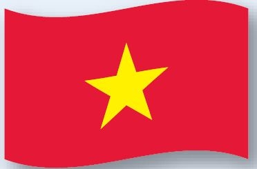 Facilities Message Speciality State Territory Foreign Flags - 5012131 - Foreign Flags ; Vietnam Outdoor ; 5'x8' 5012131