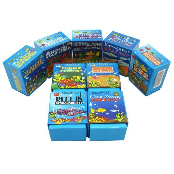 Play 2 Learn Go Fish: Set Of 9 Card Games - 2021a - Toys & Fish 2021A
