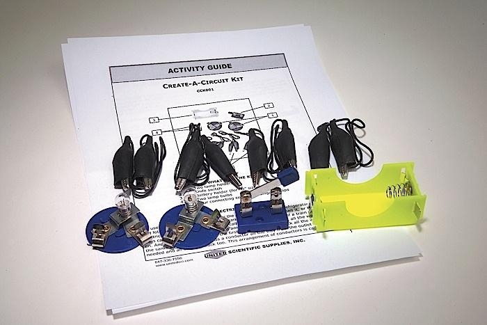 Create-a-circuit Kit - Cck001 - Learning: Science Physics Electricity Circuit Kits CCK001
