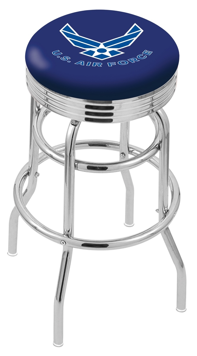 U.s. Air Force Bar Stool-l7c3c - L7c3c30airfor - Chairs Table Military Stool L7C3C30AIRFOR