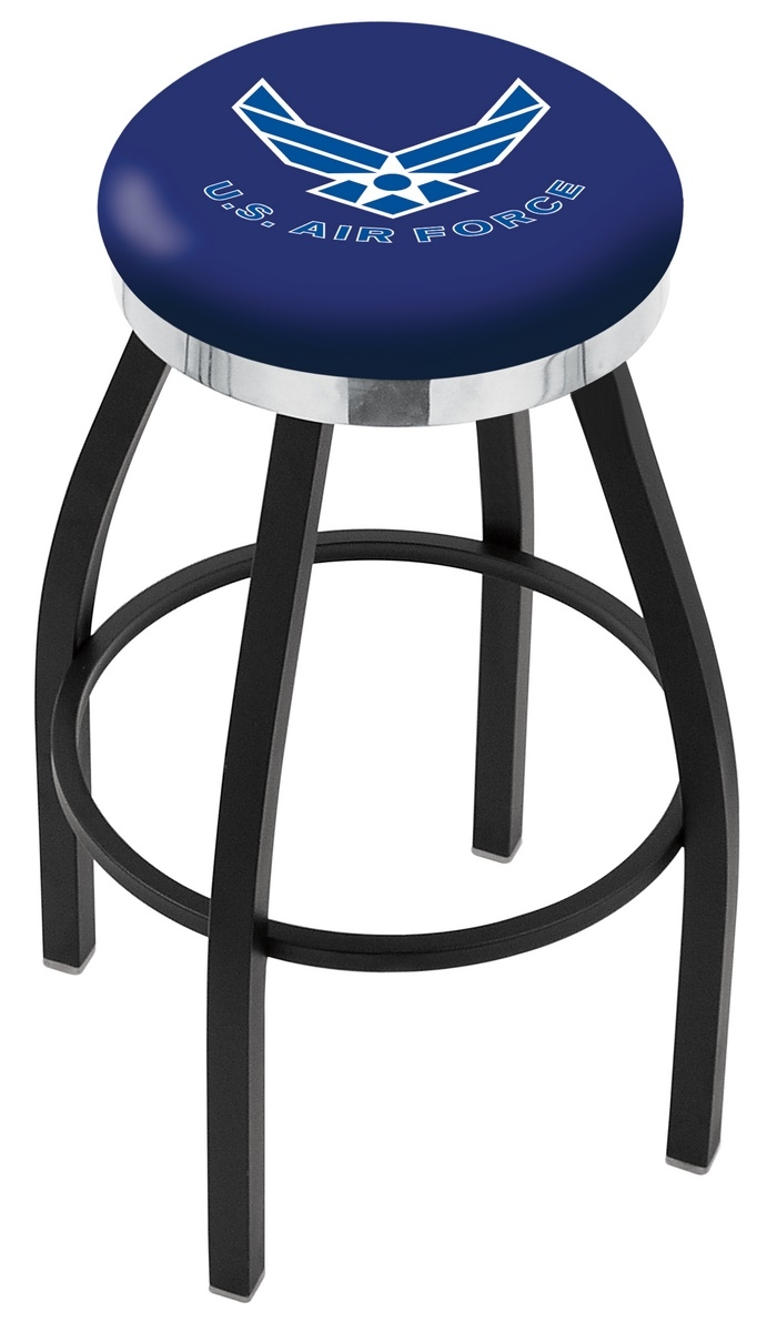 U.s. Air Force Bar Stool-l8b2c - L8b2c25airfor - Chairs Table Military Stool L8B2C25AIRFOR