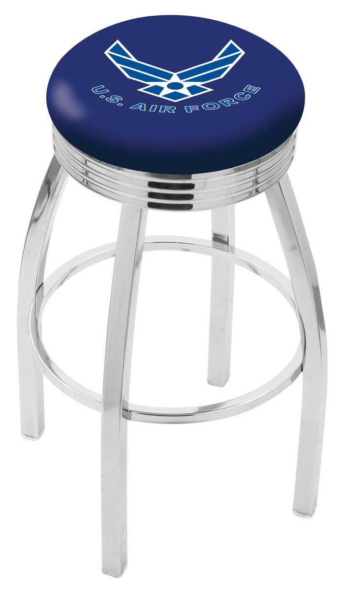 U.s. Air Force Bar Stool-l8c3c - L8c3c25airfor - Chairs Table Military Stool L8C3C25AIRFOR