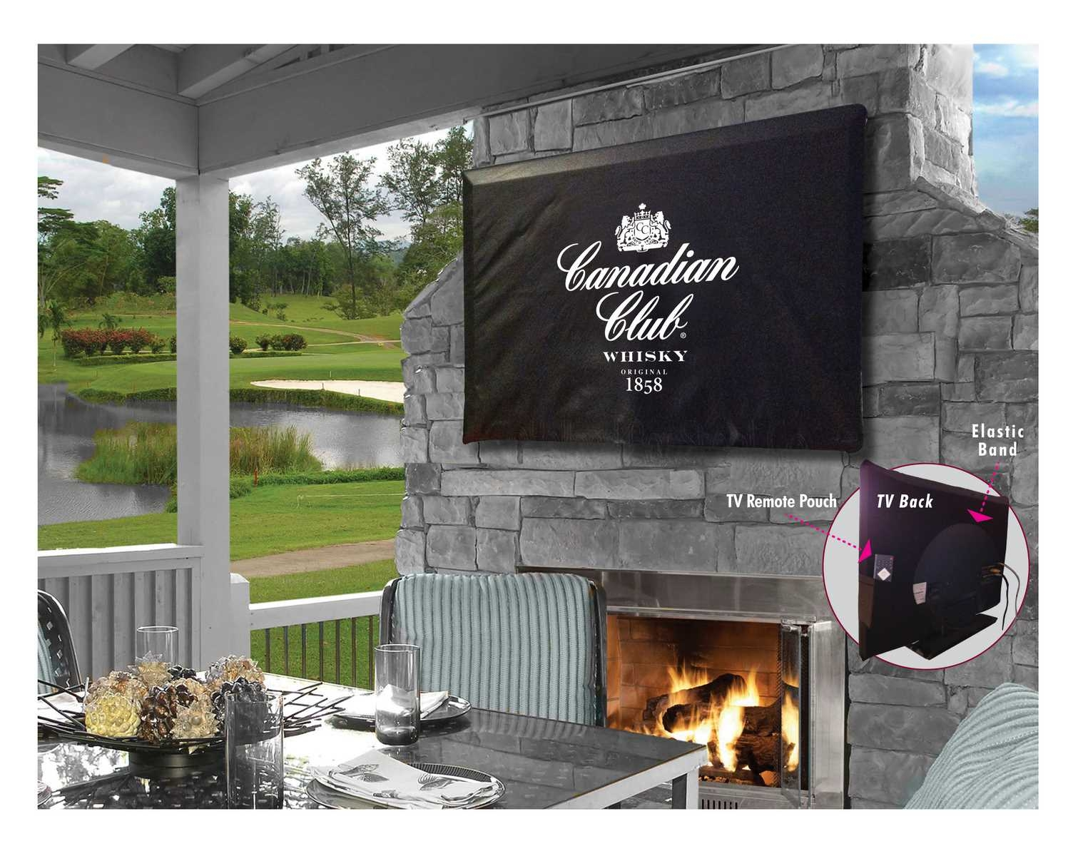 Canadian Club Tv Cover-logo Cover - Tv50canclb - Video Television Parts Jim Beam Brands> Tv TV50CANCLB