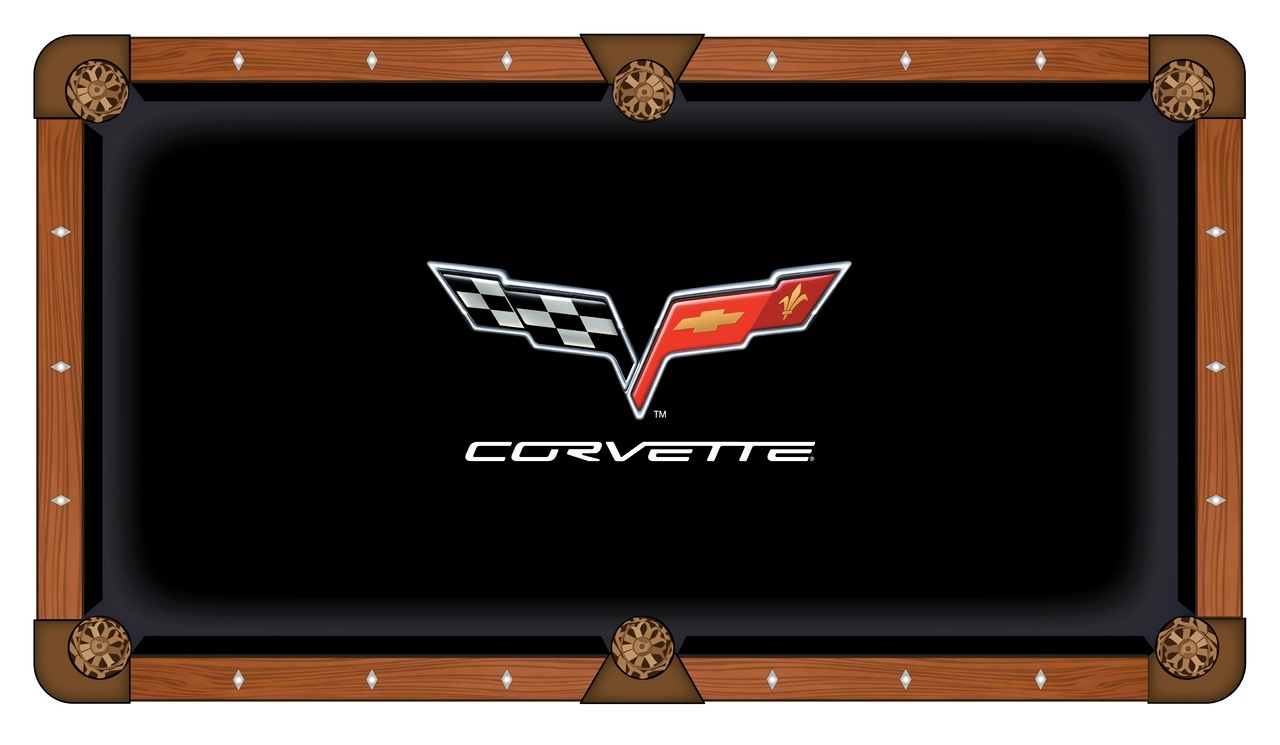 Corvette - C6 Pool Table Cloth-pool Cloth Pcl9c6 - Indoor Games Billiard General Motors PCL9C6