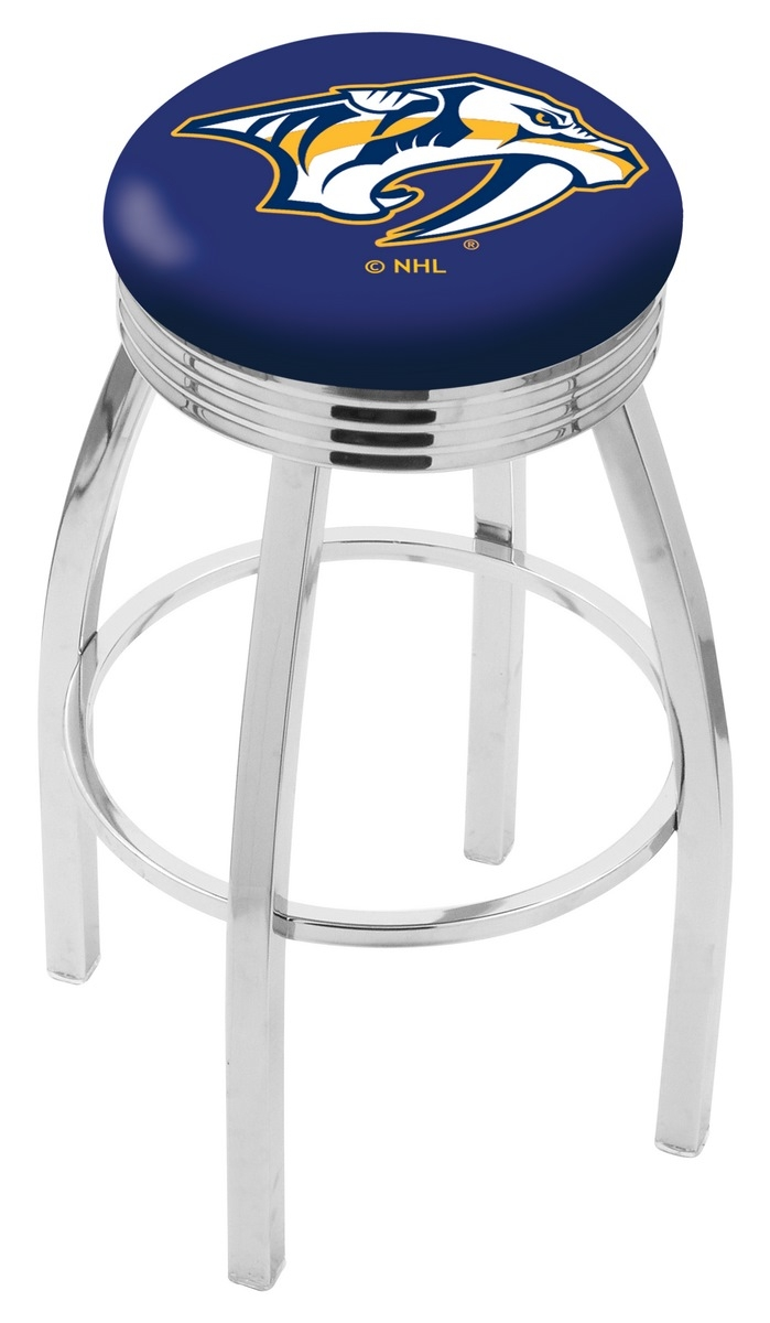 Nashville Predators Bar Stool-l8c3c - L8c3c30nshpre - Chairs Table Nhl Stool L8C3C30NSHPRE