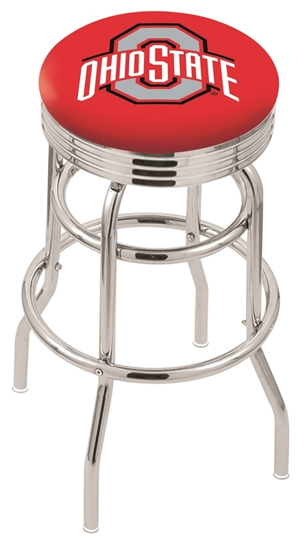 Ohio State Bar Stool-l7c3c - L7c3c25ohiost - Chairs Table College Stool L7C3C25OHIOST