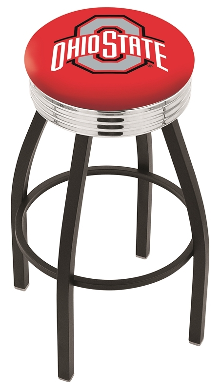 Ohio State Bar Stool-l8b3c - L8b3c25ohiost - Chairs Table College Stool L8B3C25OHIOST