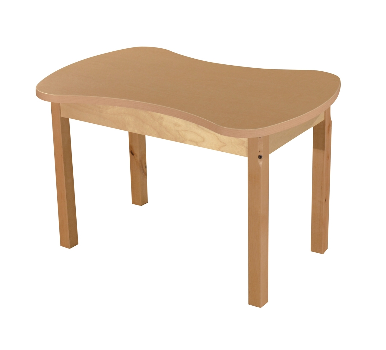 Synergy Junction 24 Inch X 36 High Pressure Laminate Table With Hardwood Legs- 14 - Hpl2436c14 - Collaboration Tables And Desks HPL2436C14