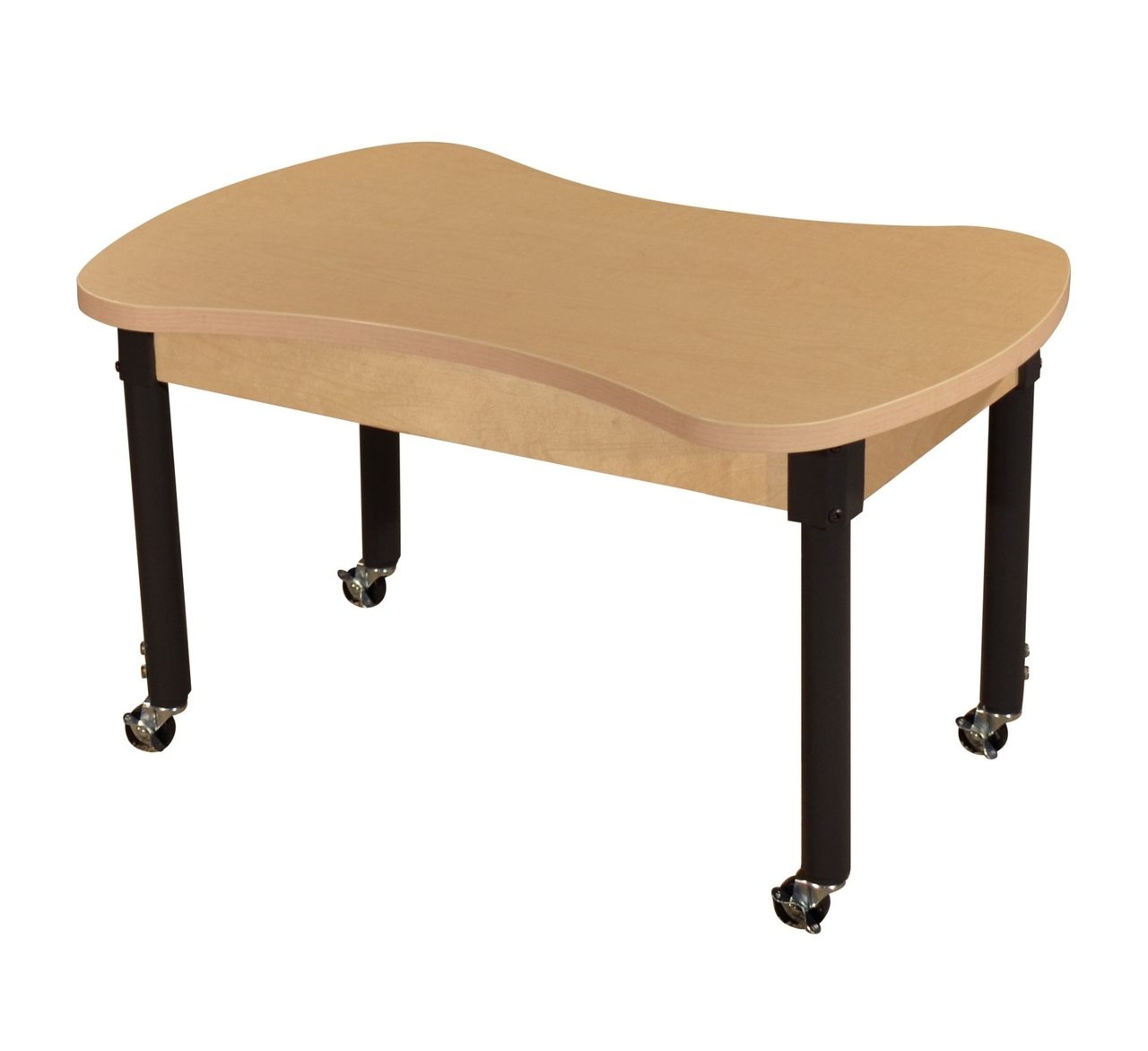 Mobile Synergy Junction 24 Inch X 36 High Pressure Laminate Table With Adjustable Legs 14-19 - Hpl2436ca1217c6 - Tables And Chairs HPL2436CA1217C6