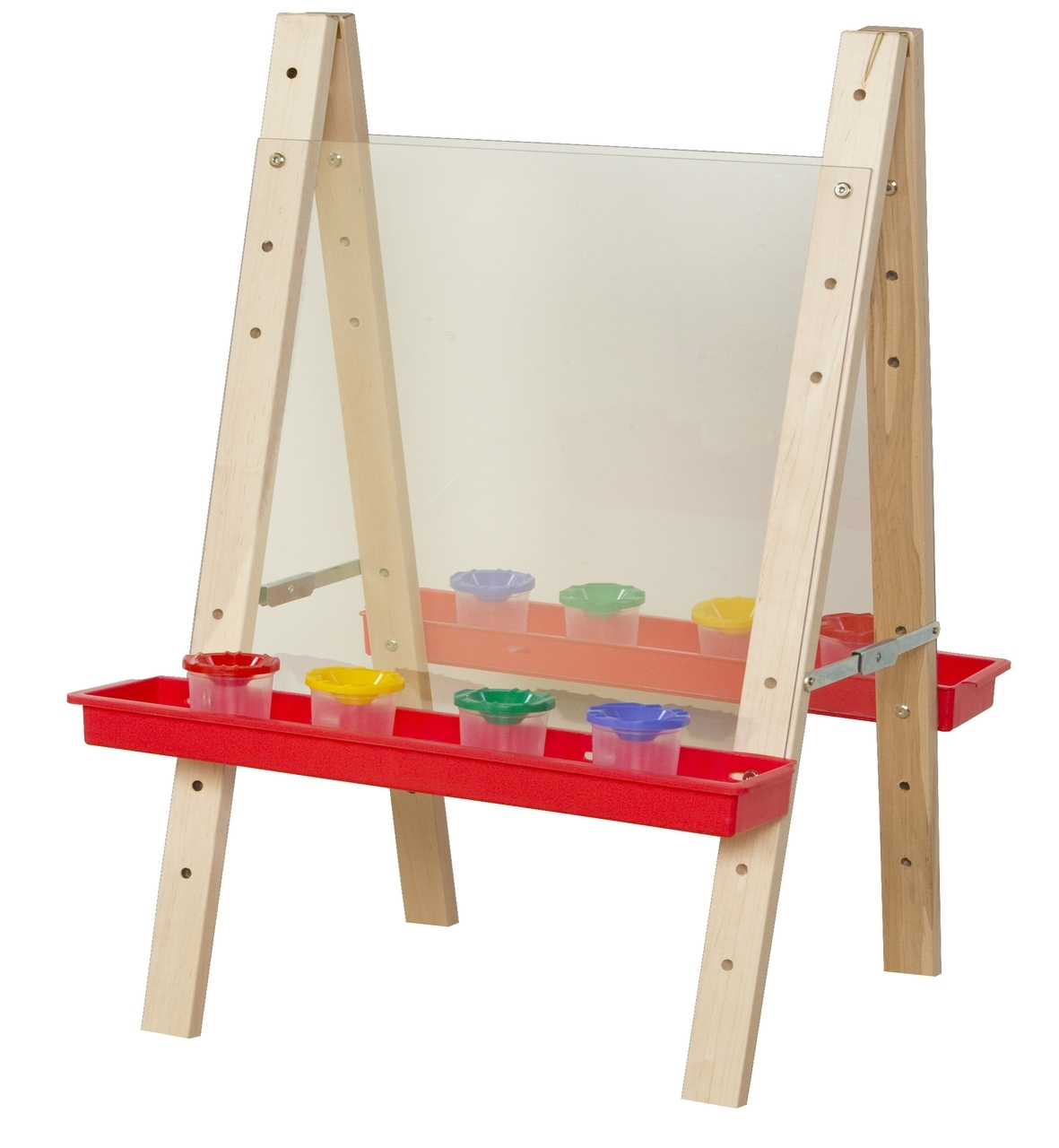 Learning: Classroom Arts & Crafts Paints Acrylic Paints - 17523 - Wd17523 Tot Size Double Acrylic Easel 17523