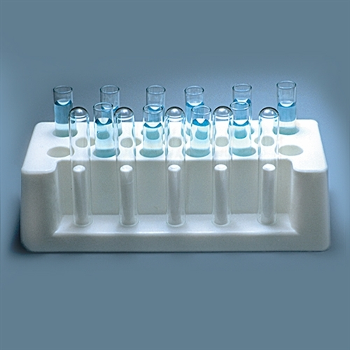 Dynalon Test Tube Racks Hdpe; Holds (12) 18-20mm Test Tubes; Case/36 - Dl-416044 - Supplies Storage And DL-416044