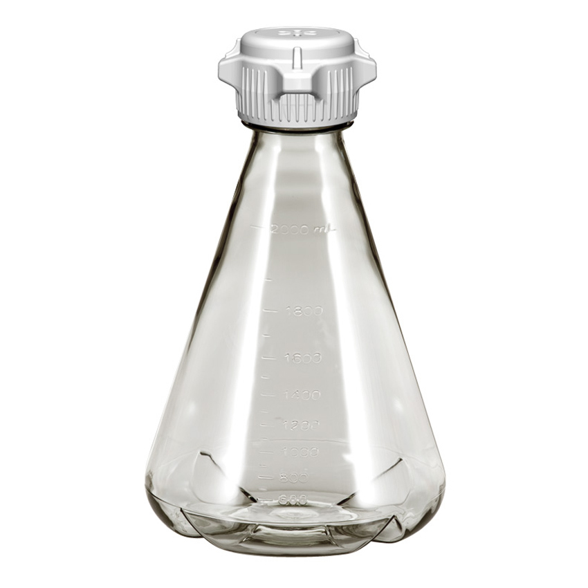 Learning: Science Lab Equipment & Supplies Cell Culture Flask Erlenmeyer - Fx-248-5242-oem - Erlenmeyer Flask; Pc; 2l; Baffle; Versacap 50mm (53b) Vented; Sterile; Ezclear; Case/6 FX-248-5242-OEM