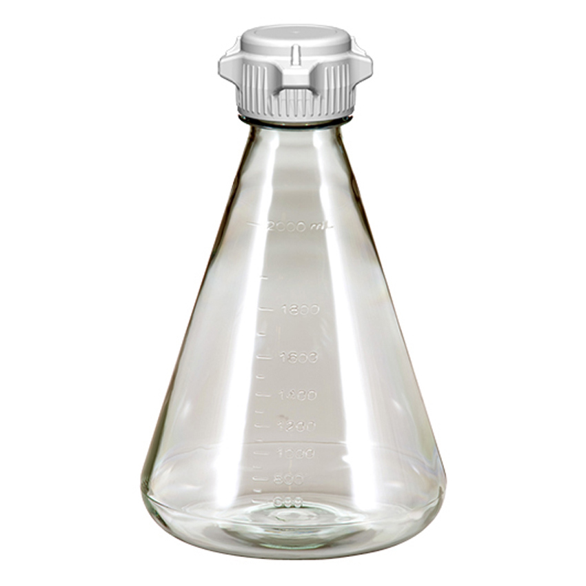 Learning: Science Lab Equipment & Supplies Cell Culture Flask Erlenmeyer - Fx-248-5132-oem - Erlenmeyer Flask; Pc; 2l; Flat Base; Versacap 50mm (53b) Sterile; Ezclear; Case/6 FX-248-5132-OEM