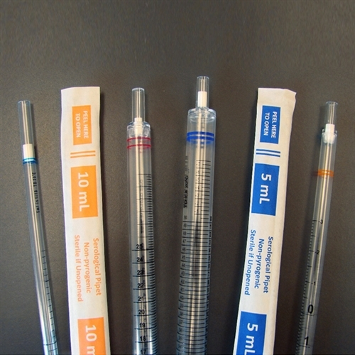 Serological Pipettes; 1ml; Bulk Packaged; Sterile; 50/bag; 1000/case - Sci-2507637 - Lab Supplies Pipets And Burettes SCI-2507637