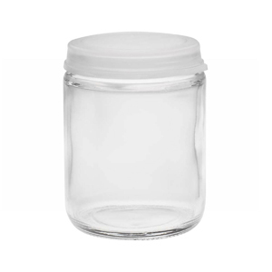 Wheaton 225544 60ml Glass Sample Bottle With Clear Snap Caps; Case/72 - Wh-225544 - Bottles And Containers Jars WH-225544