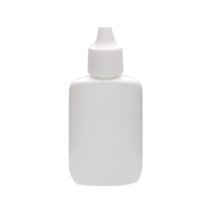 Wheaton 226433 20ml Bottle; Oval Spray; Ldpe; White; Pp Cap; Case/144 - Wh-226433 - Bottles Plastic Containers Spray WH-226433