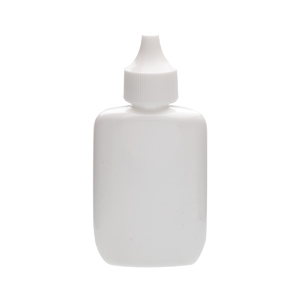 Wheaton 226434 35ml Bottle; Oval Spray; Ldpe; White; Pp Cap; Case/144 - Wh-226434 - Bottles Plastic Containers Spray WH-226434