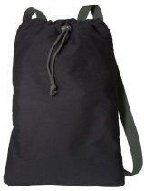 Port Authority Canvas Cinch Pack - B119-black-charcoal - Shirts And Tops B119-BLACK-CHARCOAL